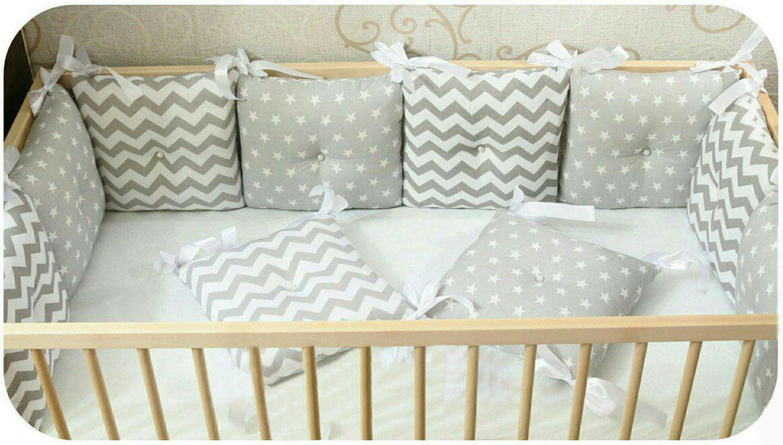 Как сшить подушки бортики в кроватку