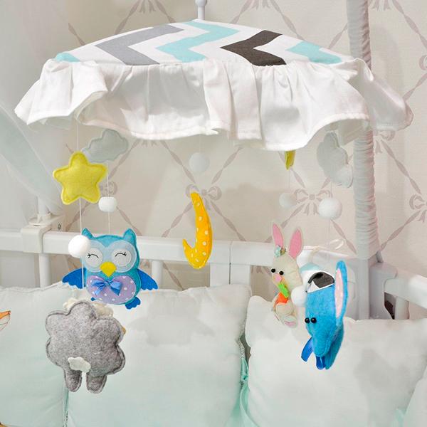 Игрушка-мобиль МАМА для детской кроватки