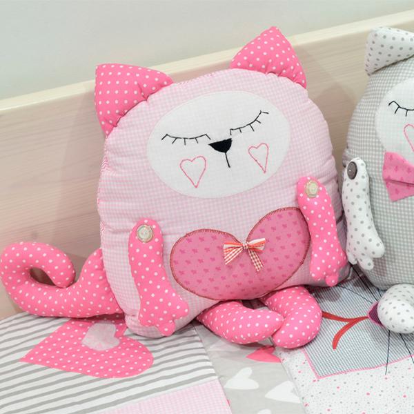 Игрушка-подушка Котёнок от МАМА
