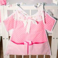 Карманчики на платье для детских кроваток