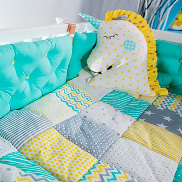 Комплект бортиков МАМА для кровати Хельсинки
