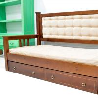 Чехол из вельвета МАМА для детской кровати