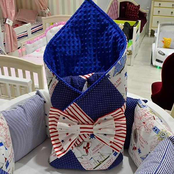 Конверт-одеялко МАМА с бантом от Little Home