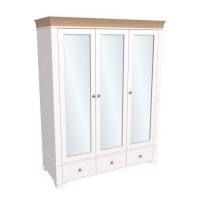 Шкаф из коллекции «Бейли» (3 зеркальные двери)