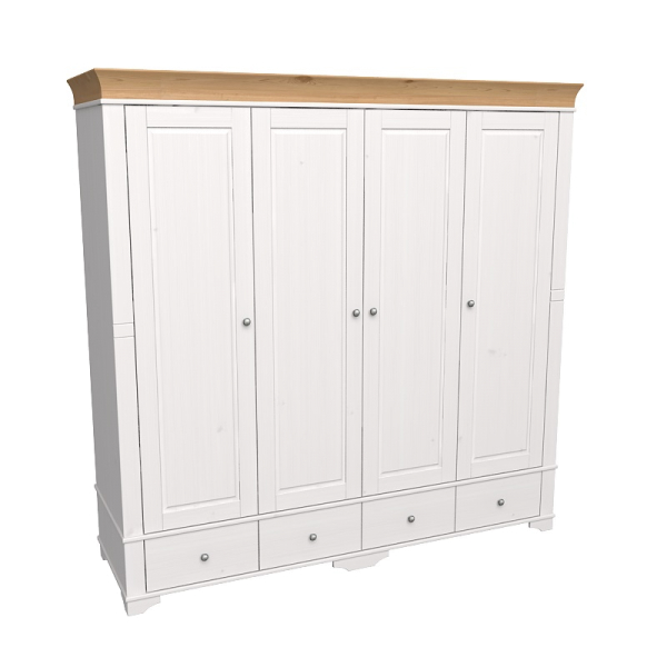 Шкаф из коллекции «Бейли» (4-x дверный)
