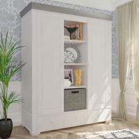 Шкаф из коллекции «Бейли» (2 двери с нишей по середине)