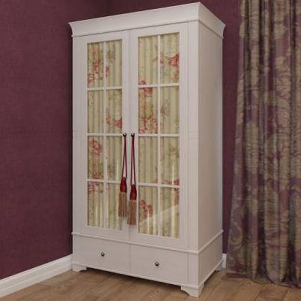 Шкаф из коллекции «Бейли» (2 стеклянных двери)