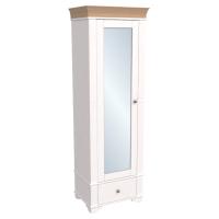 Шкаф из коллекции «Бейли» (Однодверный с зеркалом)