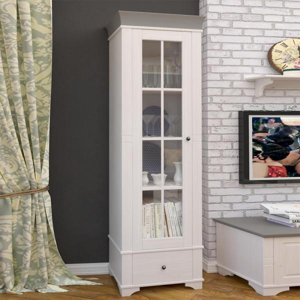 Стеллаж-витрина из коллекции «Бейли»