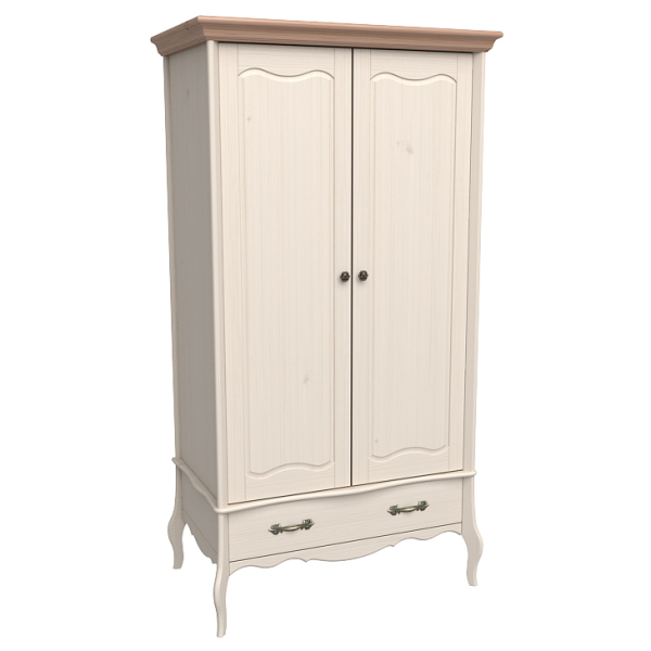 Шкаф из коллекции «Лебо» (2 дверки и 1 ящик)