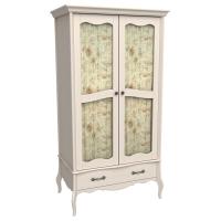 Шкаф из коллекции «Лебо» (2 стеклянные дверки и 1 ящик)