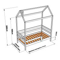 Детская кровать-домик Беседка ЭКО