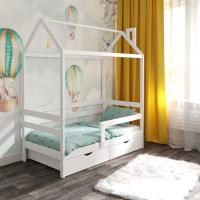 Детская кровать-домик ЭКО