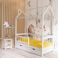 Детская кровать-домик ЭКО К