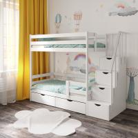 Детская двухъярусная кровать СЛК ЭКО