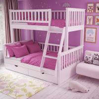 Детская двухъярусная кровать «Модера»
