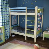 Детская двухъярусная кровать «Расеборг»