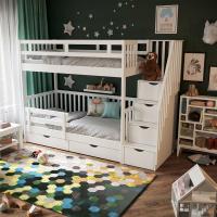 Детская двухъярусная кровать Турку СЛК