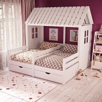 Кровать домик для детей «Тутта»