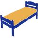 Детские односпальные кровати