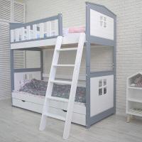 Детская двухъярусная кровать от mk Leroys Хома-10