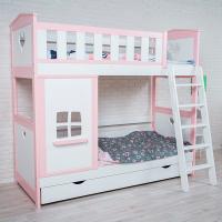 Детская двухъярусная кровать от mk Leroys Хома-13