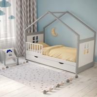 Детская кровать домик от mk Leroys «Homa-6» (Хома-6)