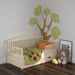 Односпальная детская кровать Leo (лео)