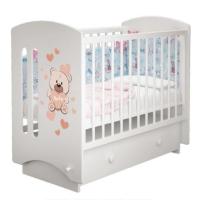 Детская кроватка «Sofi» (Софи) с рисунком «Baby»