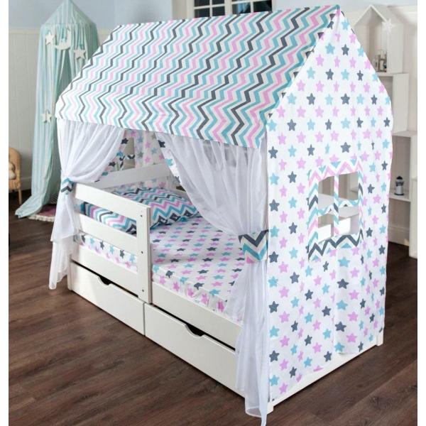 Шатер МАМА для кровати домик-1