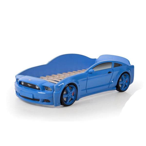 """Кровать машина """"Мустанг 3D"""" (объёмный пластик)"""