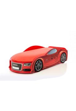 Кровать-машина Ауди-А6 красная (серия UNO)