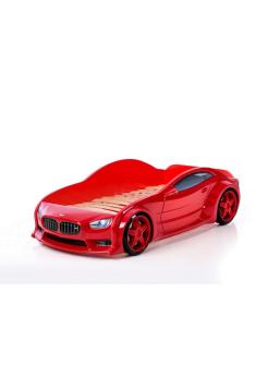 Кровать машина красная марки БМВ (EVO 3d)