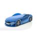 Кровать-машина БМВ-М синяя (серия UNO)
