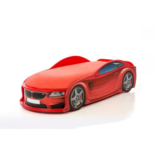 Кровать-машина БМВ-М красная (серия UNO)