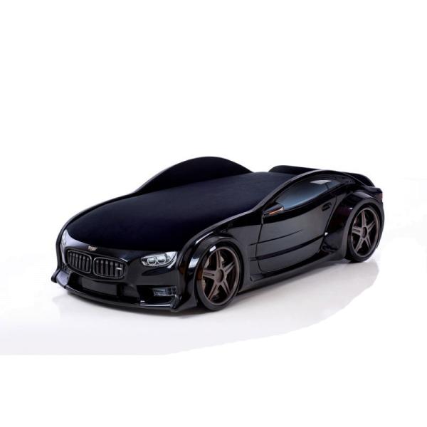 Кровать-машина «черный БМВ» (серия NEO 3d объемная)