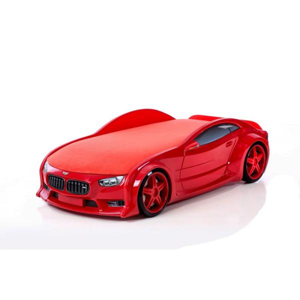 Красная кровать-машина БМВ (серия NEO 3d объемная)
