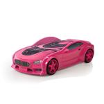 Кровать-машина «БМВ» розовый (серия NEO 3d объемная)
