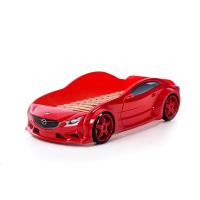 Кровать машина Мазда красная (evo 3d)