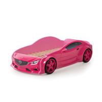 Кровать машина Мазда розовая (evo 3d)
