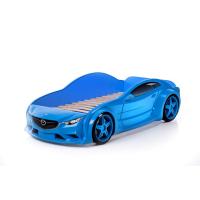 Синяя кровать машина Мазда (evo 3d)