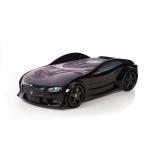 Кровать-машина «Мазерати» черная (серия NEO 3d объемная)