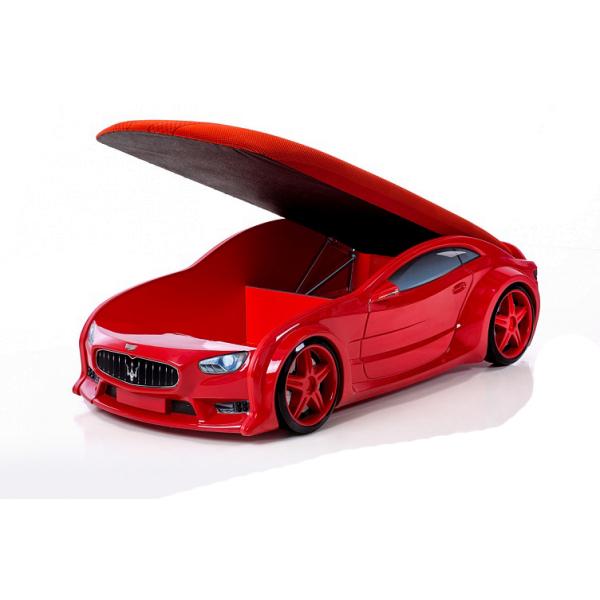 Кровать-машина «Мазерати» красная (серия NEO 3d объемная)