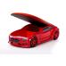 Кровать машина красная марки «Мерседес» (NEO 3d)