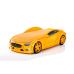 Кровать-машина Мерседес желтый (серия NEO 3d объемная)