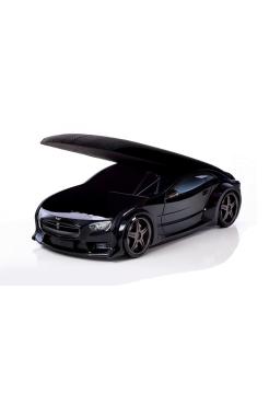 Кровать-машина Тесла черная (серия NEO 3d объемная)