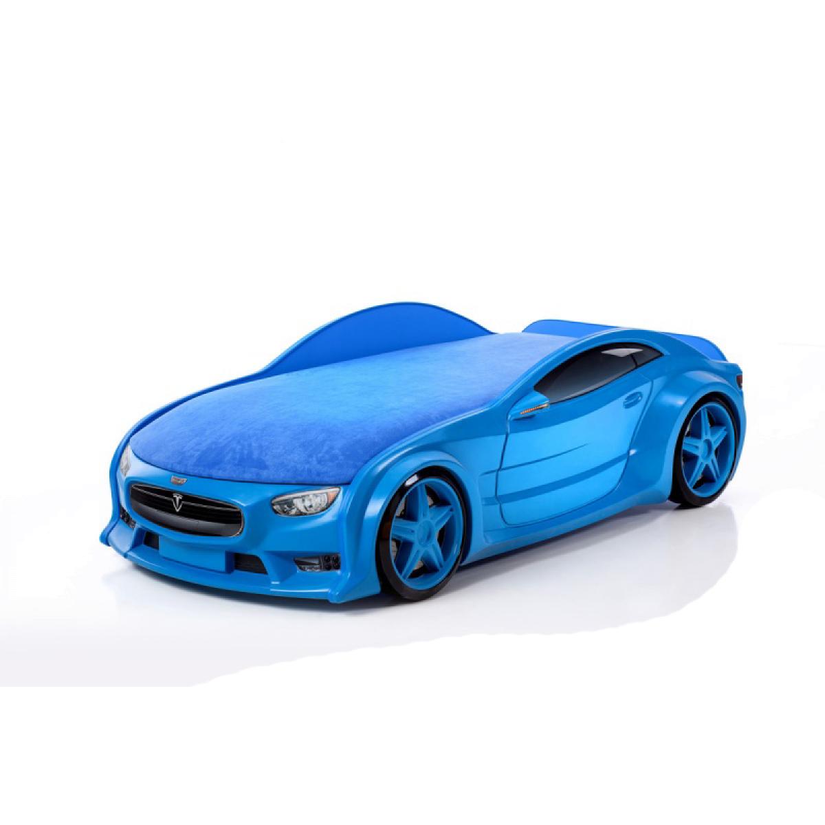 Фото синяя машина