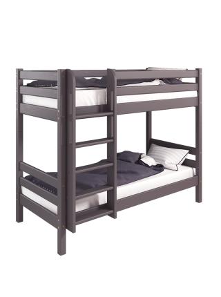 """Двухъярусная кровать """"Соня""""- Вариант 9 ( с прямой лестницей )"""