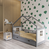 Детская кровать домик Элис (Алиса в стране чудес)