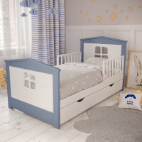 Детская односпальная кровать Нильс